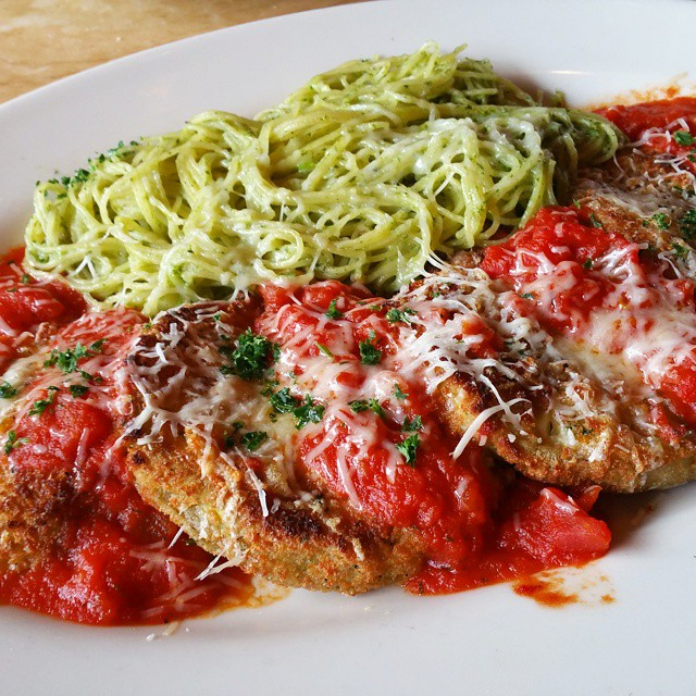 Eggplant parm is one of my favorite dishes and Ivehellip