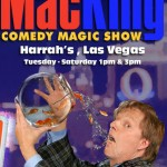 Review: The Mac King Comedy Magic Show at Harrah's Las Vegas {The 2 year old loved it} @mackingshow