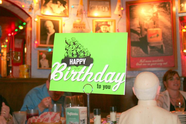 Best Birthday Dinner EVER! {at Buca Di Beppo} Pictures of me {yikes}!