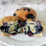 The SECRET to The Best Blueberry Muffins! {with vegan instructions too!}