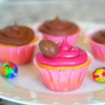 Cadbury Creme Eggs Easter Cupcakes