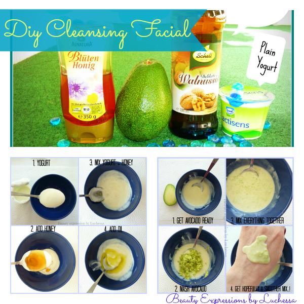 Homemade Cleansing Facials