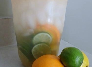 Refreshing Citrus Flavored Water