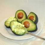 Avocado Stuffed With Egg Salad
