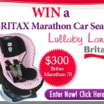 New Giveaway! Enter to win a Britax Marathon!