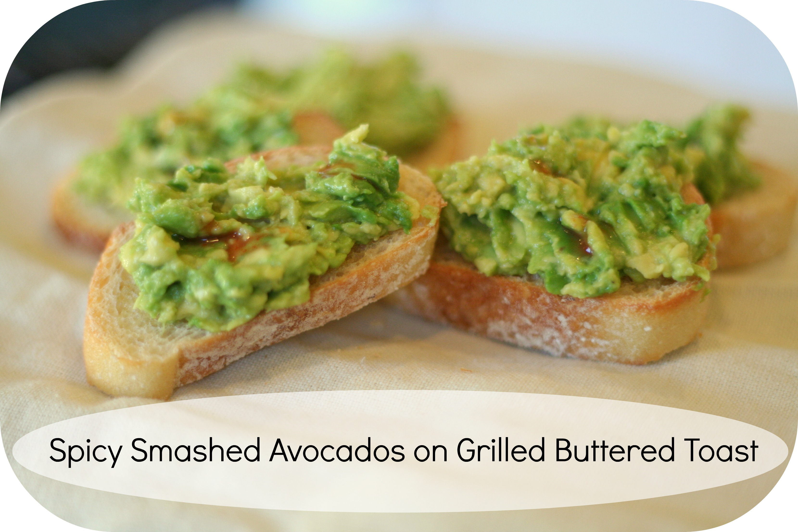 Grilled Avocado On Toast Recipe — Dishmaps