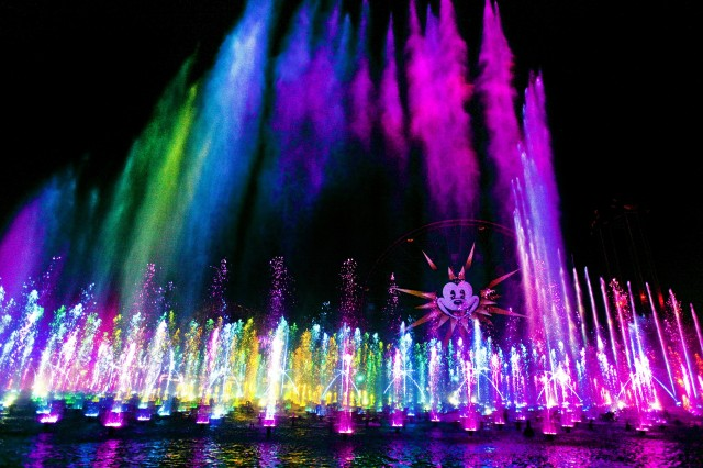 world of color disney