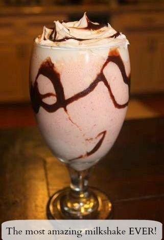 How To Make The Most Amazing Strawberry Milk Shake!