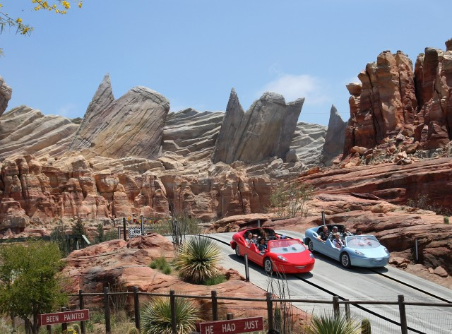 cars land Disney