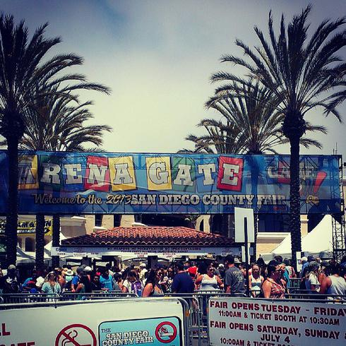 What to see and eat at the San Diego Fair at the Del Mar Fairgrounds!