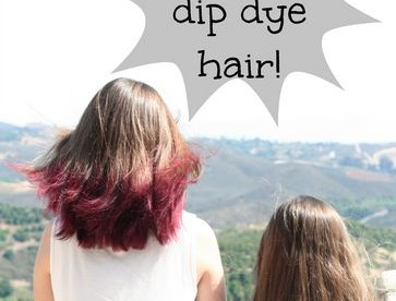 How to dip dye hair at home and save $60!