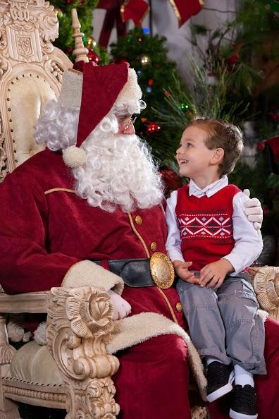 Knott's Merry Farm and Santa