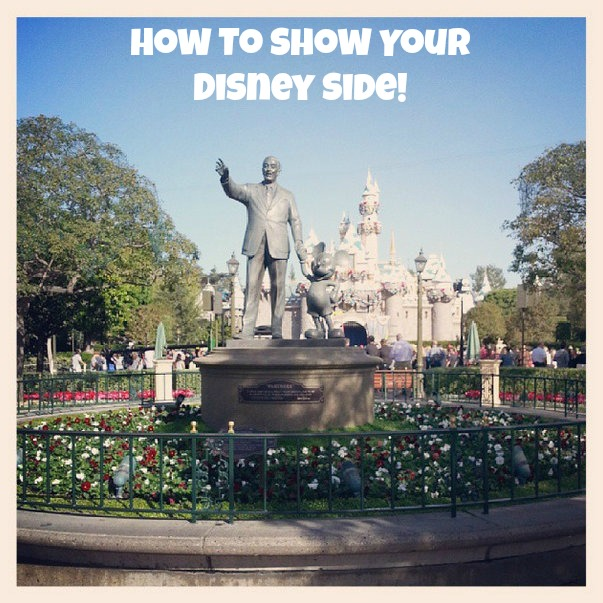 How To Show Your Disney Side (#Disneyside)
