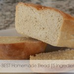 The Best Homemade Bread Recipe With Only 5 Ingredients…