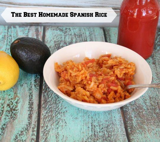 The Best Homemade Spanish Rice (vegan)