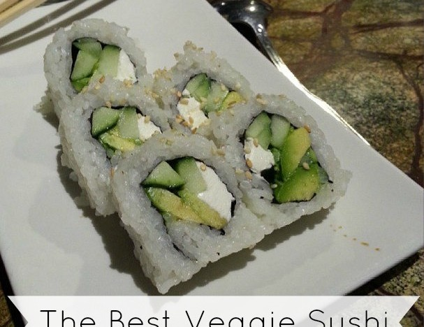The Best Vegetarian Sushi