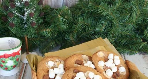 Santa's S'more Cookies