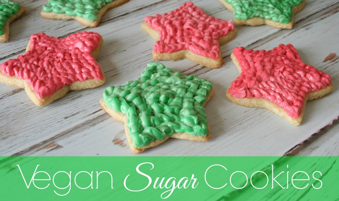 The Best Vegan Sugar Cookies {traditional ingredient recipe too}