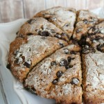 The Best Chocolate Chip Scones {with vegan directions too}
