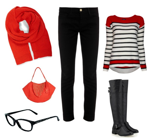 bebe glasses outfit #ad