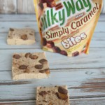 No Bake Milky Way Salted Caramel & Peanut Butter Fudge