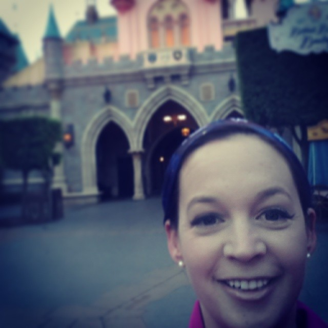 My first Disney Run! Only 2 miles and there was some walking involved. .. But I Did it! #DisneySMMoms