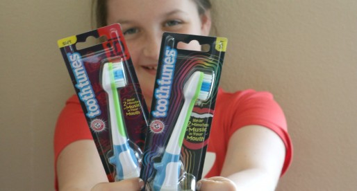 Brushing Teeth Is Fun Again With Tooth Tunes