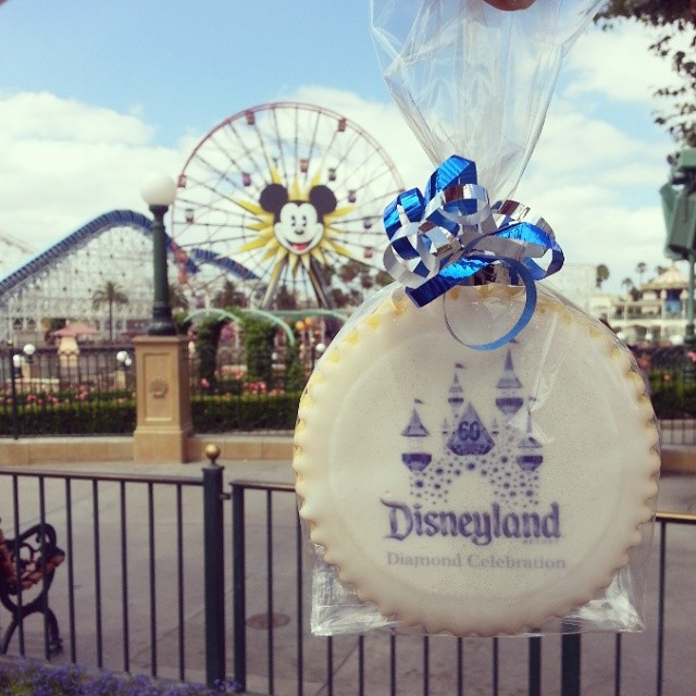 59 years ago this wasn't even here! Disneyland is all about magic, family and fun for us. We are celebrating in both #Disneyland and #CAadventure Happy 59th anniversary Disneyland! We are so excited for the 60TH year!