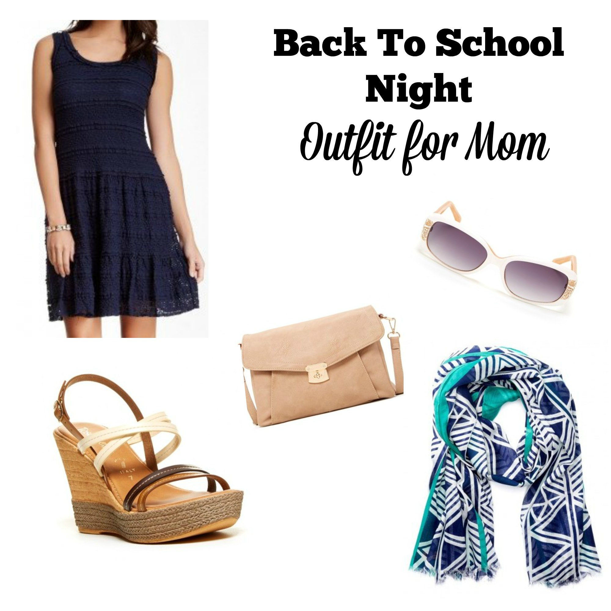 Back to school night outfit for mom