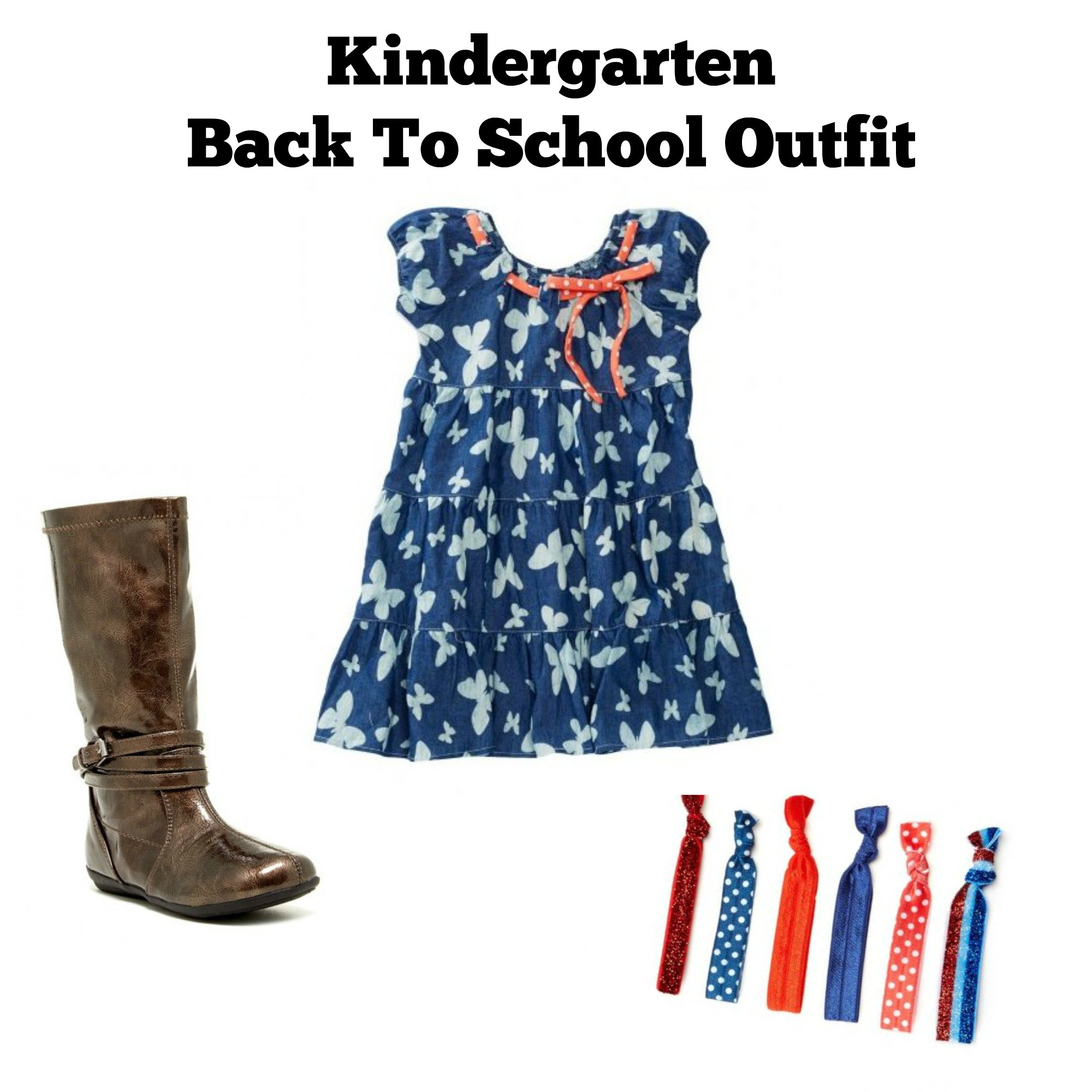 kindergarten back to school outfit