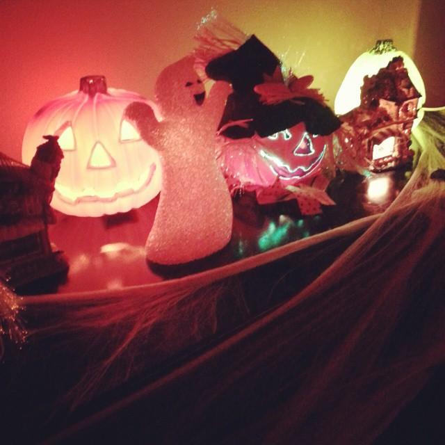 My home is looking very spooky.  #Halloween