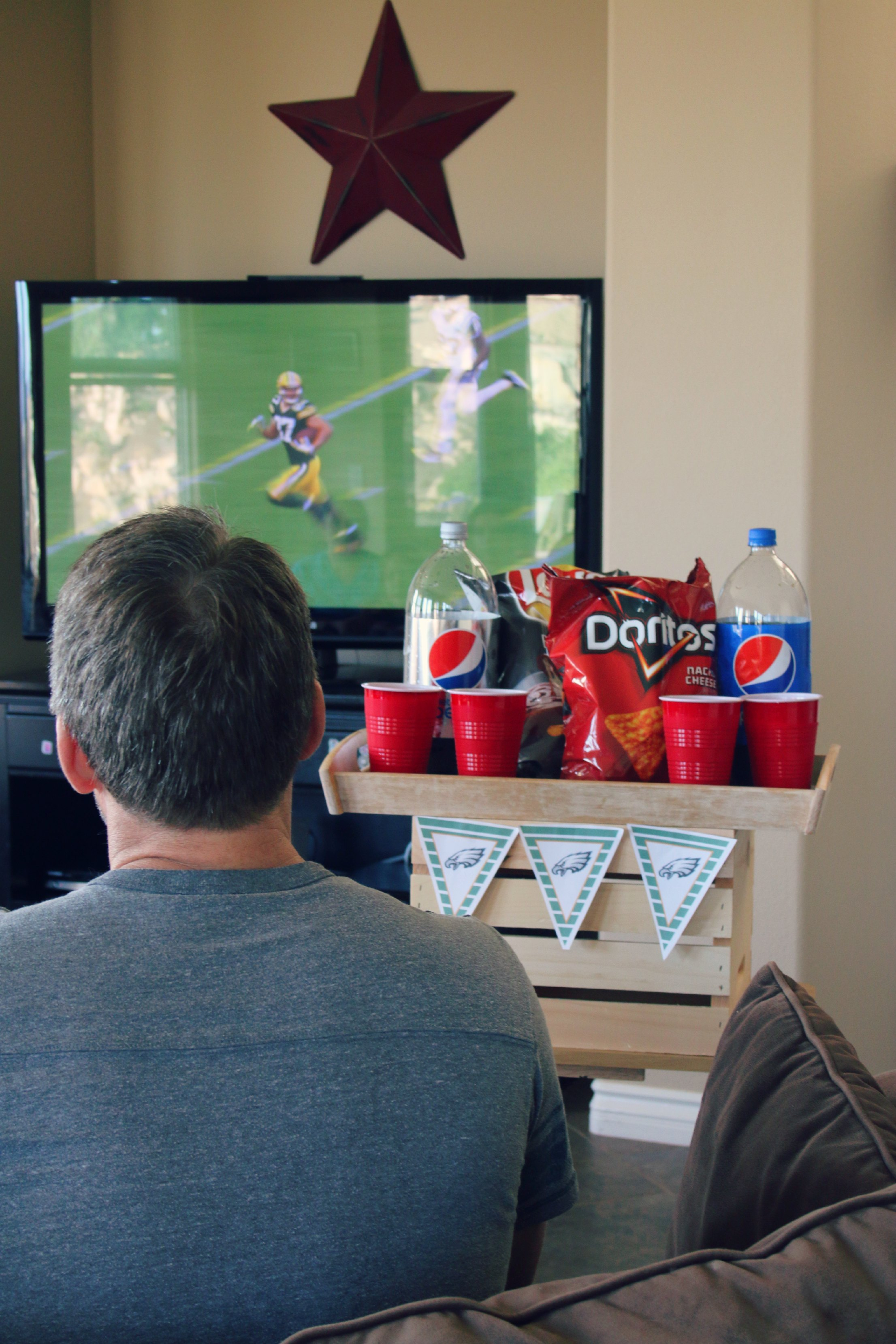 game day party easy