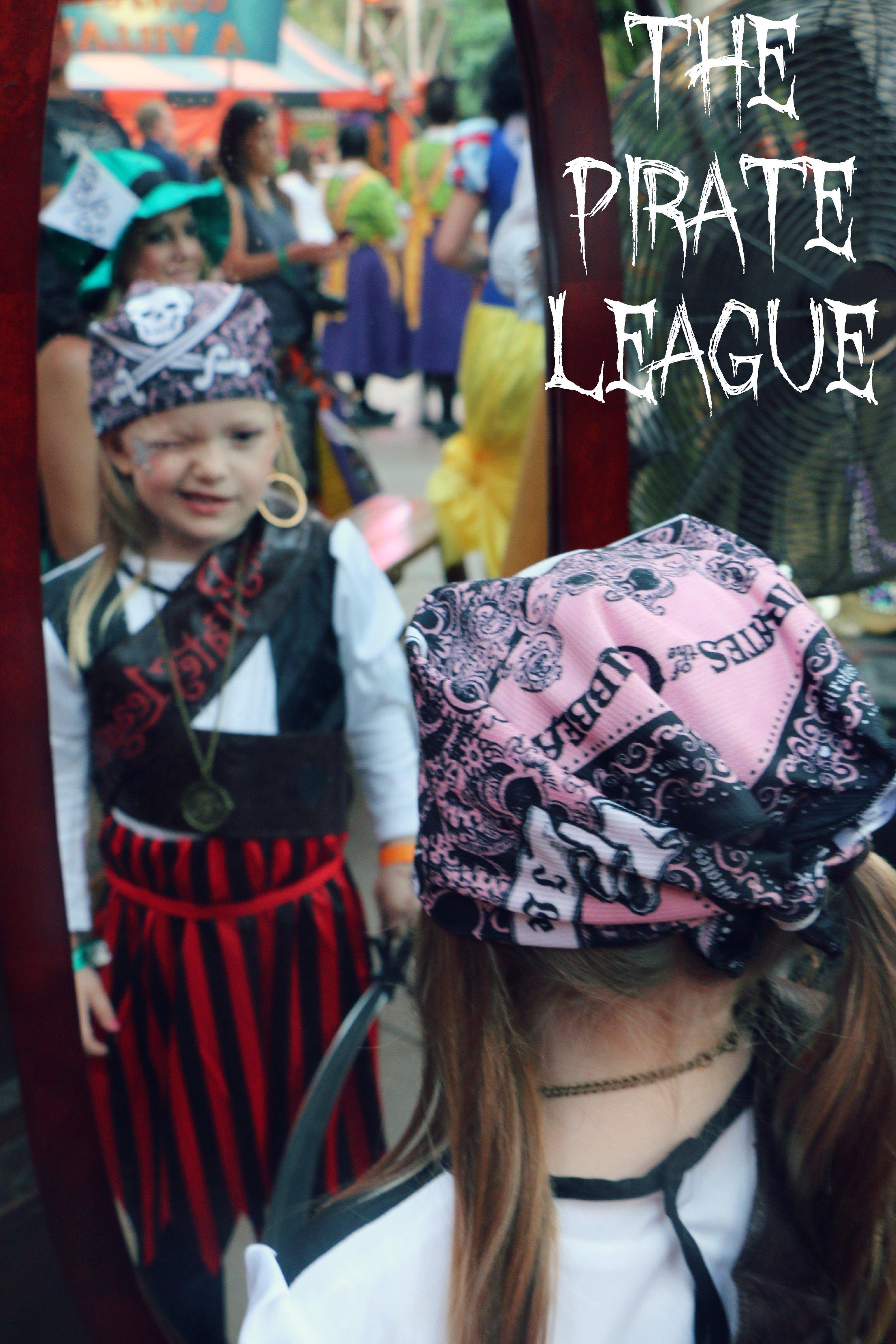 the pirate league disneyland