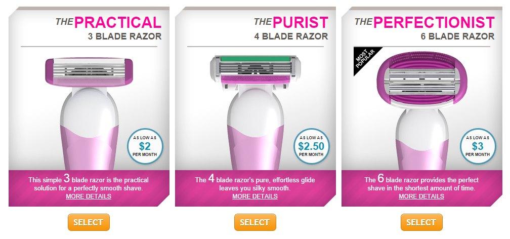 womens razors