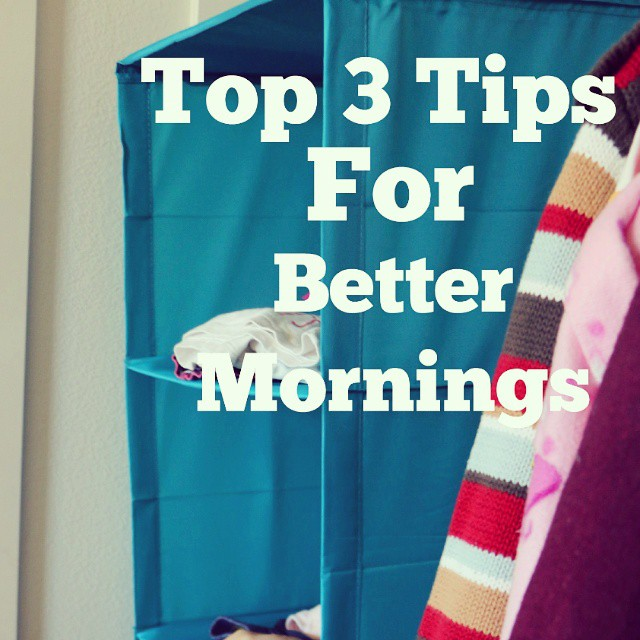 Our mornings are crazy around here but thankfully I've partnered with IKEA to share my top 3 tips to make mornings better. #first59 #Ad #ontheblogtoday