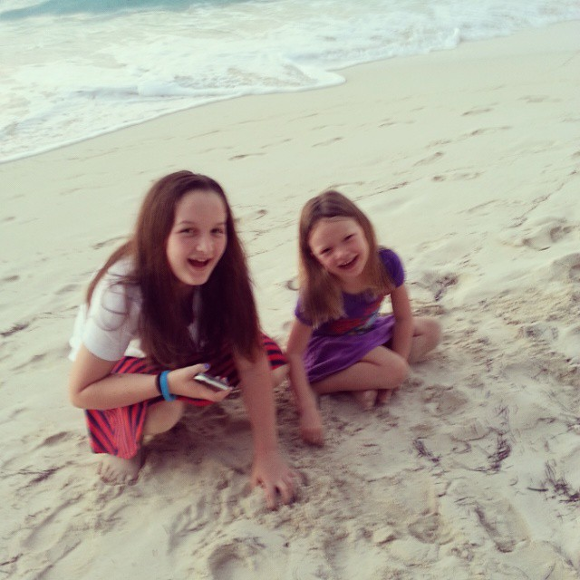 These 2 were laughing up a storm while playing in the softest sand I've ever felt. @BeachesResorts #BeachesMoms #BeachesGoSeek #41