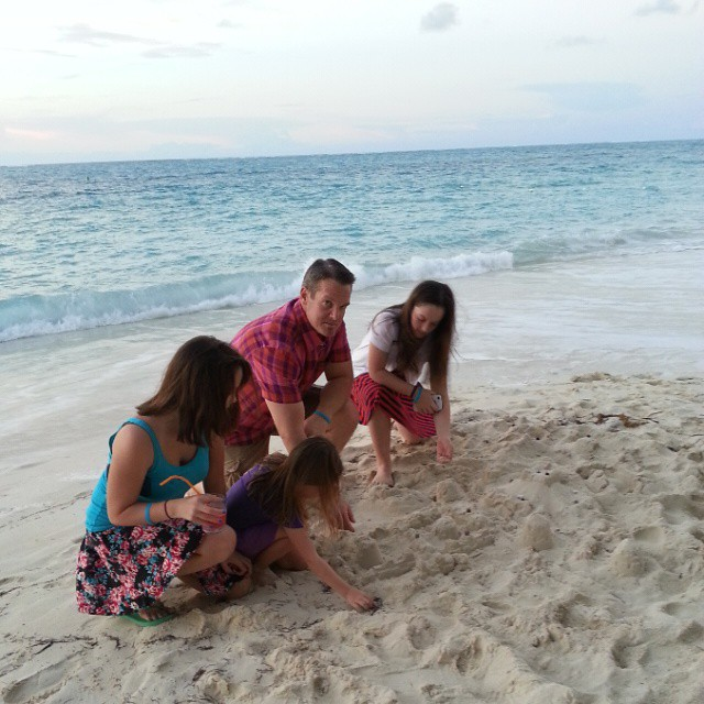 Sandcastle building is serious business in our family.... seriously fun that is! #25 @BeachesResorts #BeachesMoms  #BeachesGoSeek