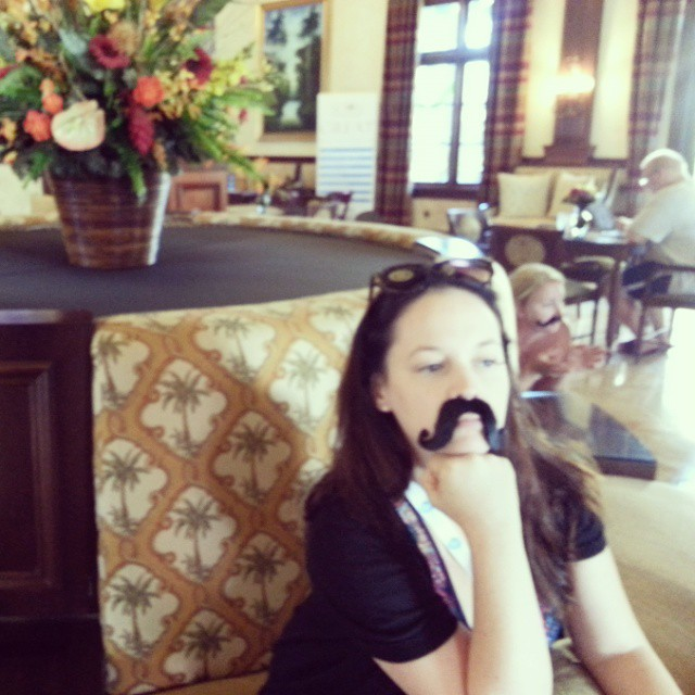 I mustache you a question in the Italian Village. .. @BeachesResorts #BeachesGoSeek #BeachesMoms