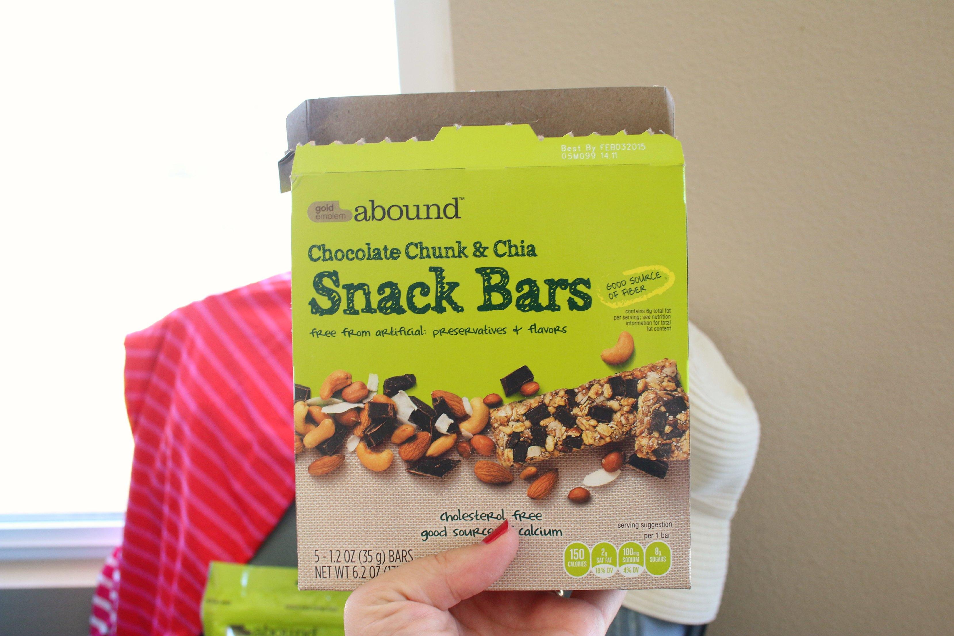 cvs chia snack bars