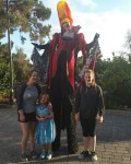 Ran into this unusually tall vampire at BrickorTreat Legoland! Shehellip