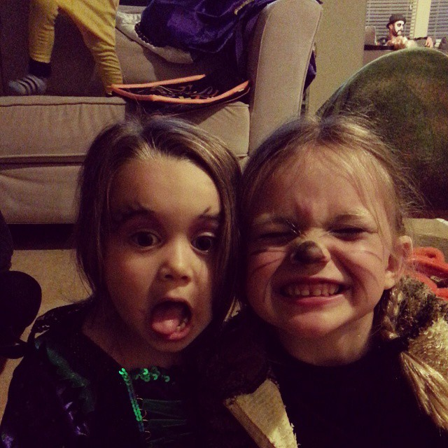 Happy Halloween from the cousins!