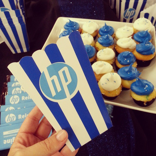 Ready to party with @hp and learning about some cool new printing options! #Printspirations