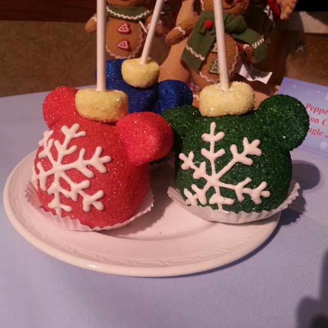 Almost too cute to eat right? #disneyholidays There are so many fun new treats just for the holidays!  #hiddenmickey #Disney