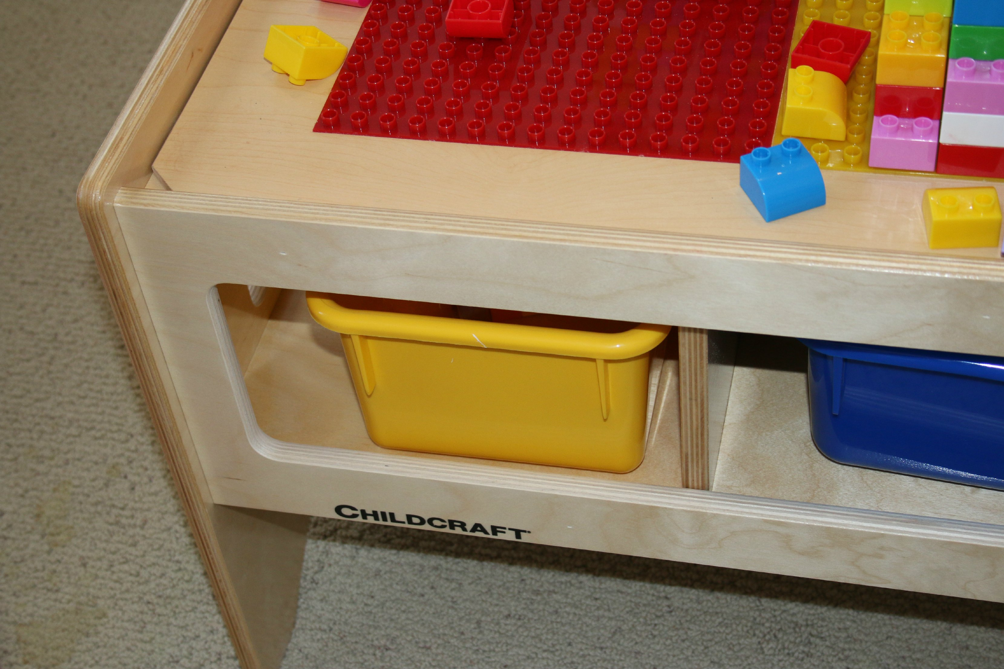childcraft puzzle table