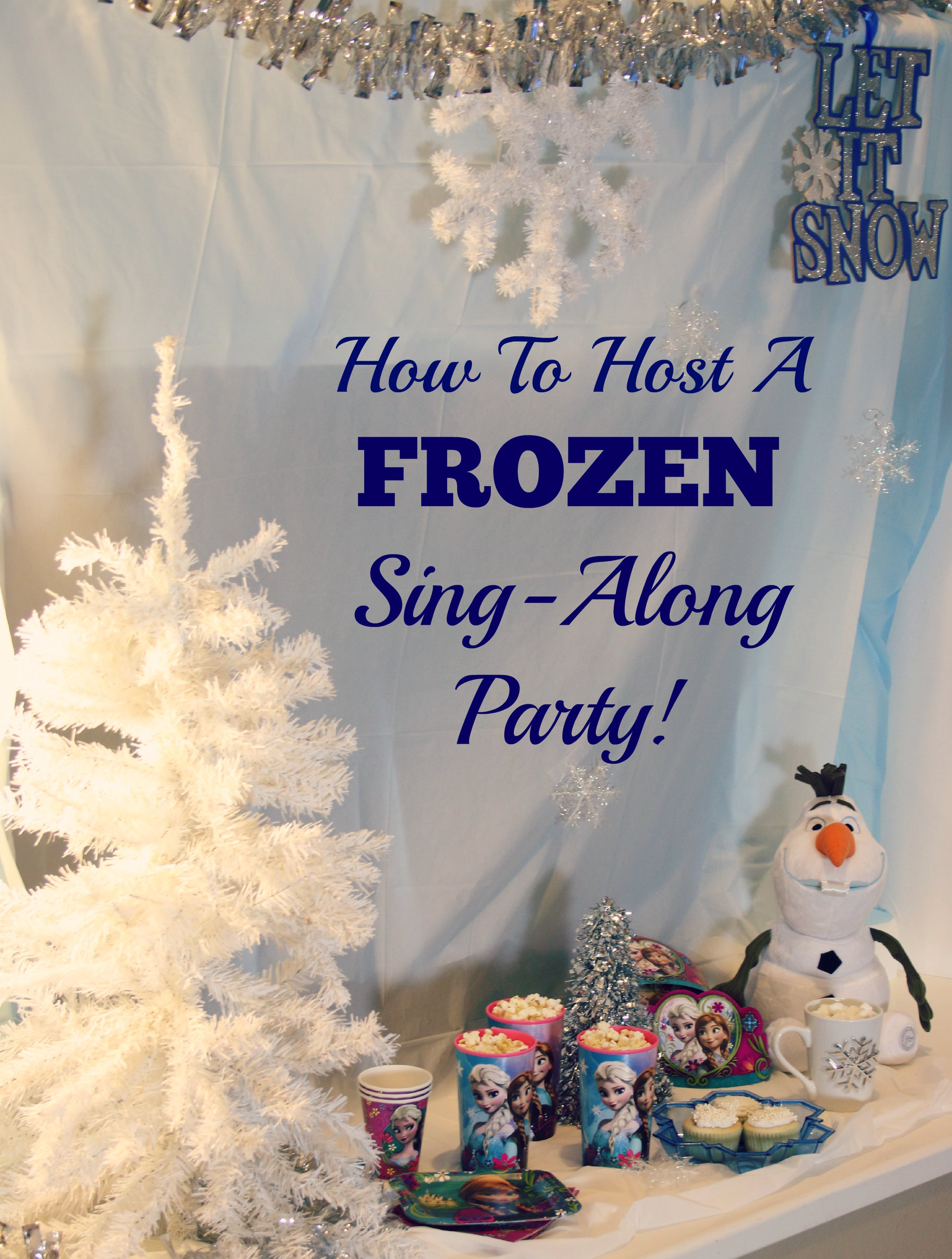 frozen sing along party