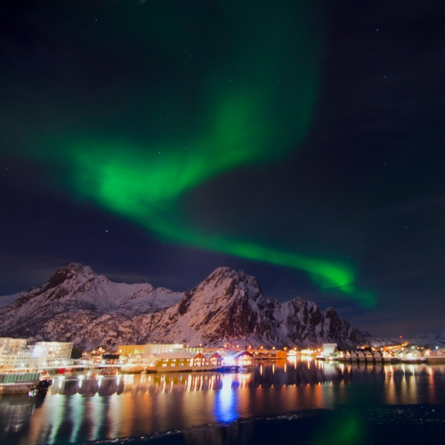 Check This Off Your Bucket List, a Hurtigruten Voyage To See the Northern Lights