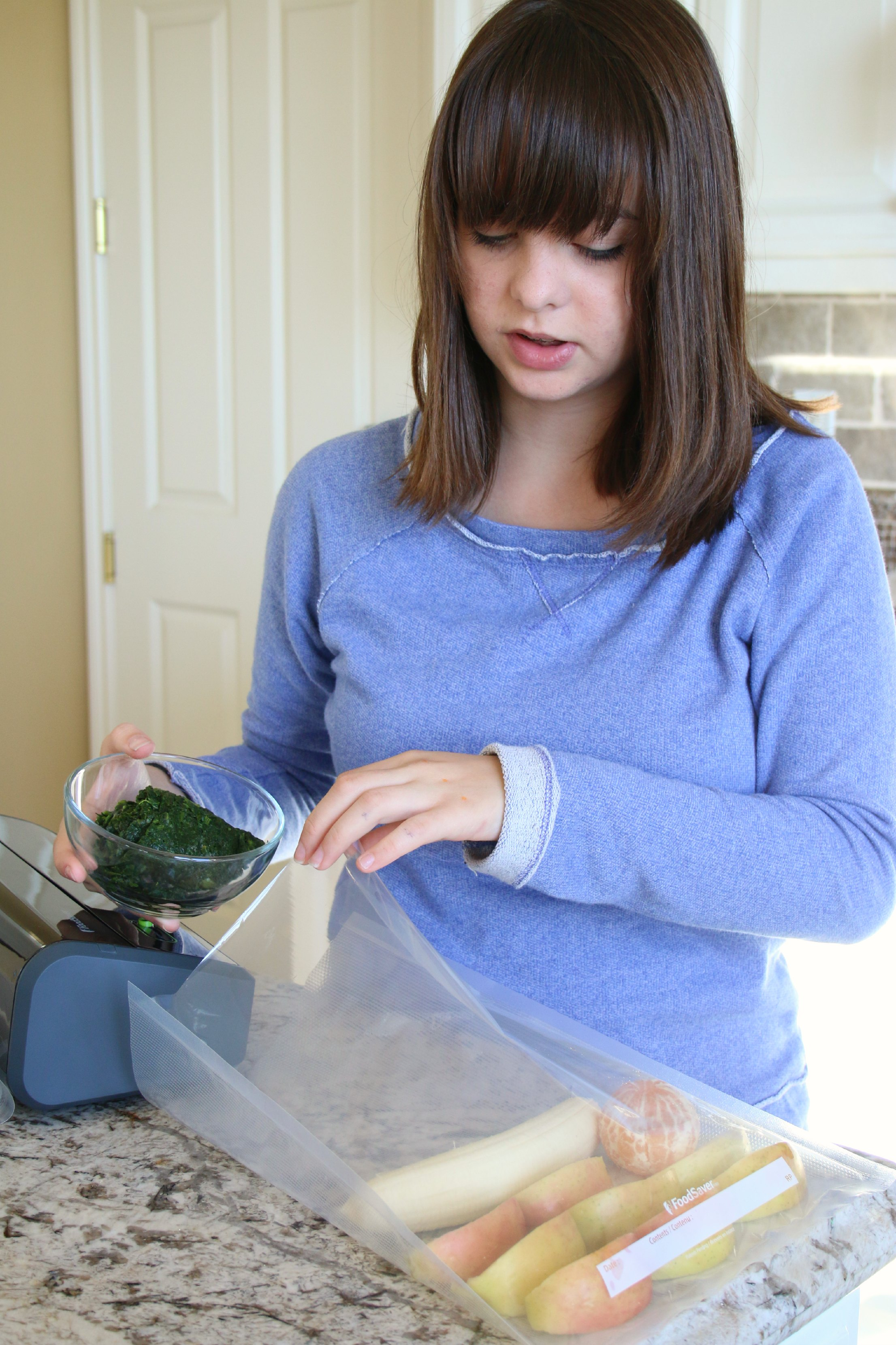 save time with a foodsaver