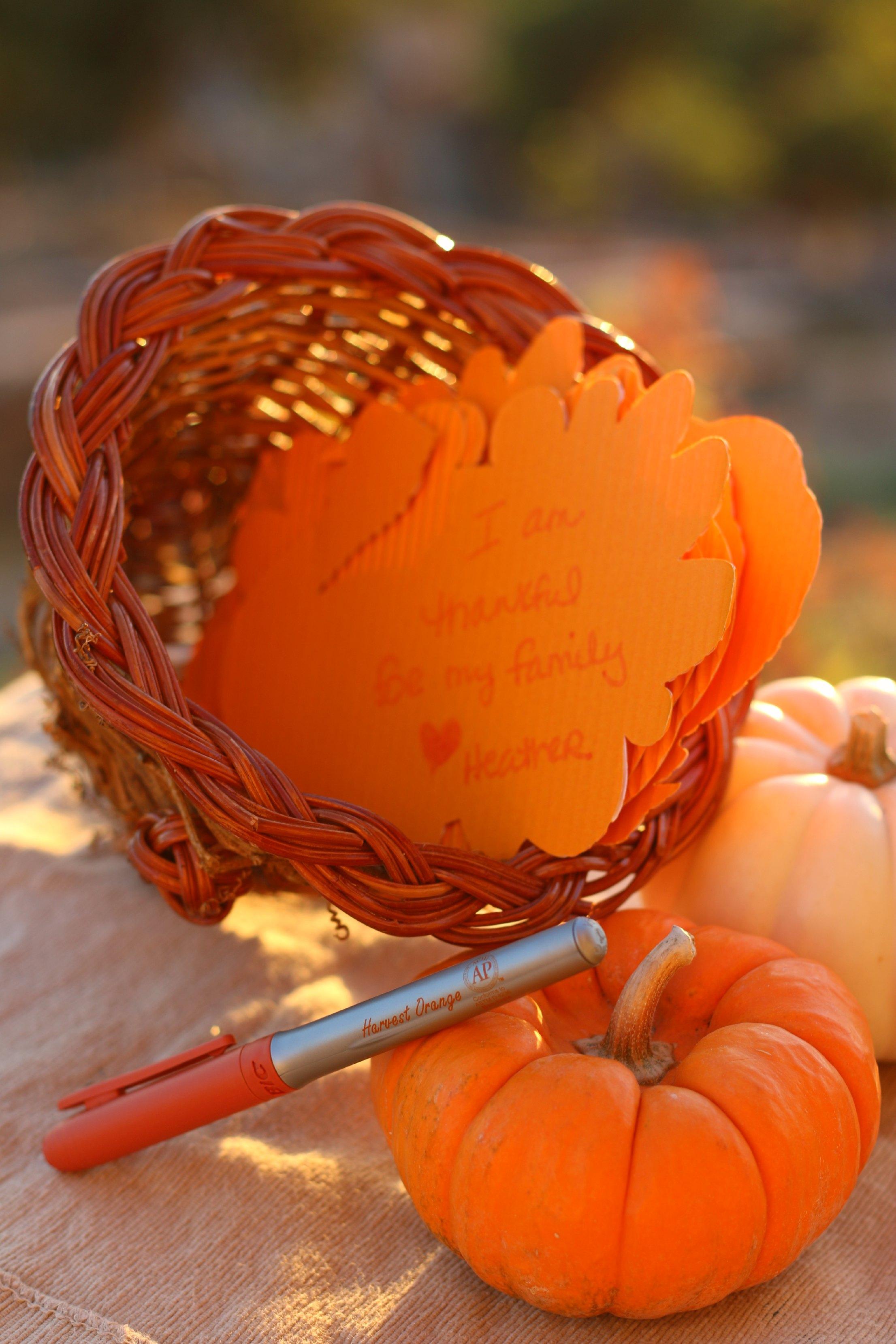 thankful centerpiece thanksgiving craft
