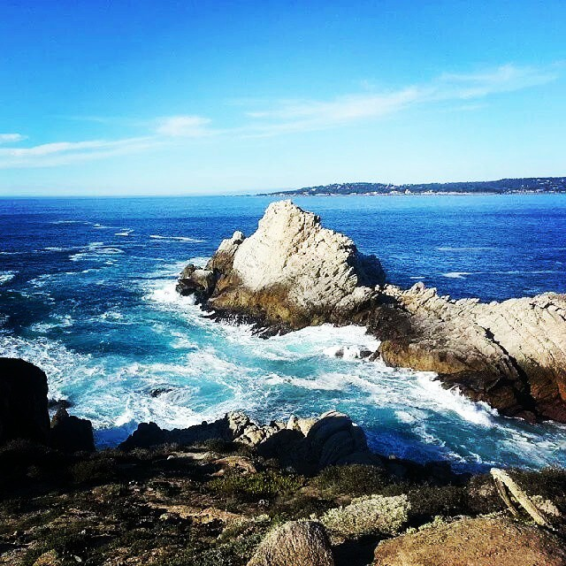 Dreaming of the bright blue waters in this photo from @reesepeter  Where do you dream of going?  #travel #monterey #pacificgrove #familytravel #travel #traveling  #vacation #visiting #instatravel #instago #instagood #trip #holiday #photooftheday #fun #travelling #tourism #tourist #instapassport #instatraveling #mytravelgram #travelgram #travelingram #igtravel