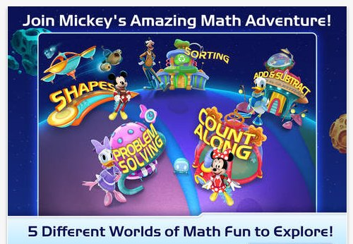 mickey's amazing math adventure